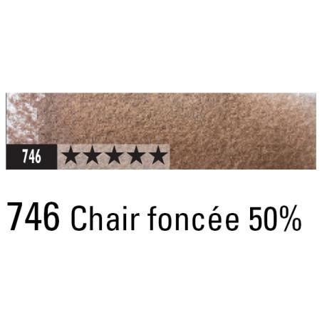 CARAN D'ACHE ARTIST MUSEUM AQUA CRAYON 746 CHAIR FONCE 50%