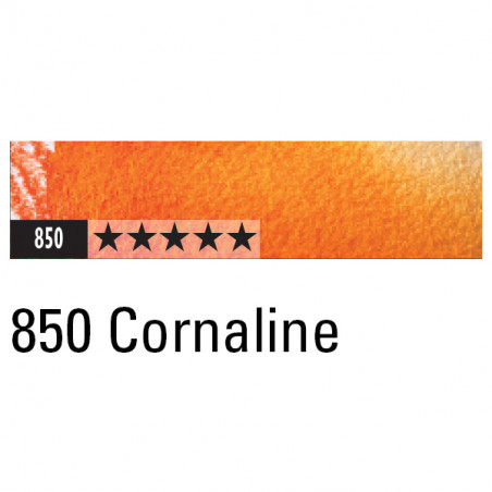 CARAN D'ACHE ARTIST MUSEUM AQUA CRAYON 850 CORNALINE