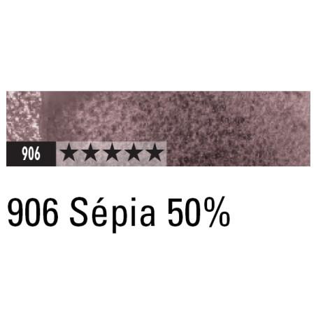 CARAN D'ACHE ARTIST MUSEUM AQUA CRAYON 906 SEPIA 50%