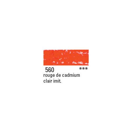 NEOCOLOR II 560 ROUGE CADMIUM CLAIR IMIT.