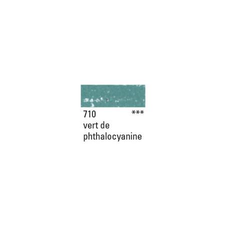 NEOCOLOR II 710 VERT PHTALO METALLIQUE