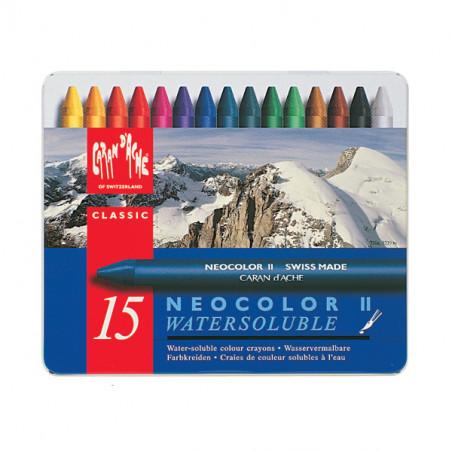 NEOCOLOR II 15 PIECES