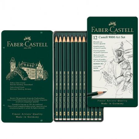 FABER CASTEL SET ART 9000 12 CRAY