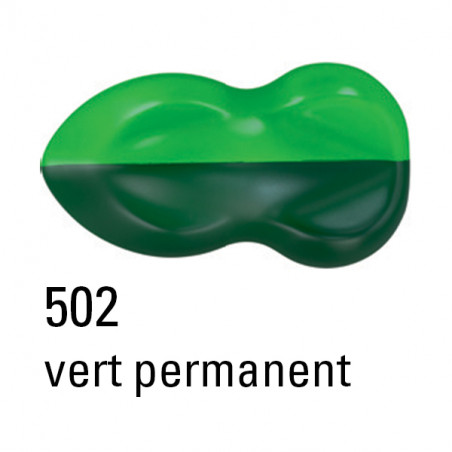 SCHMINCKE AEROCOLOR PEINTURE 250ML 502 VERT PERMANENT