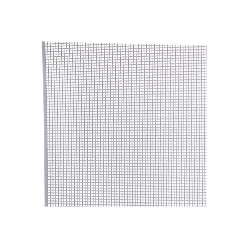 Tôle perforée rectangle aluminium