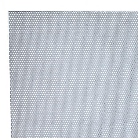 TOLE PERFOREE RONDE 1.1/2 ALU. 20X30CM