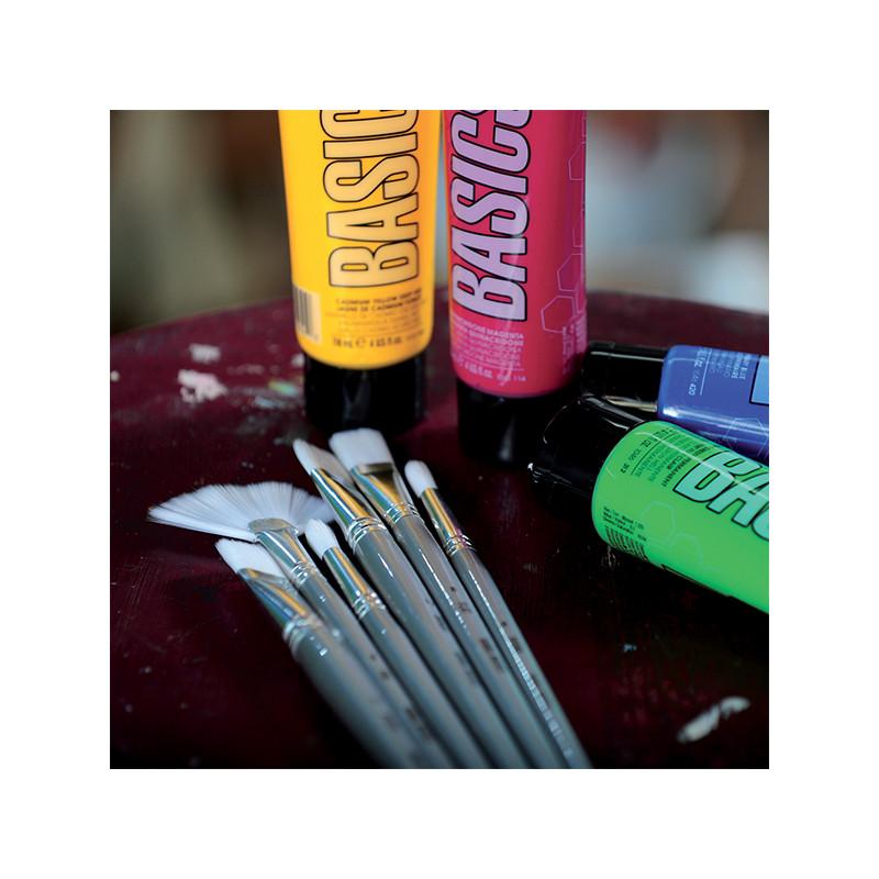 Basics couleurs acryliques qualité étude