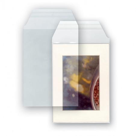 Pochettes plastiques transparentes de protection