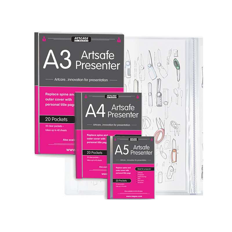 Book de présentation Artsafe presenter