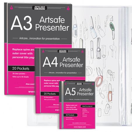 Book de présentation Artsafe presenter
