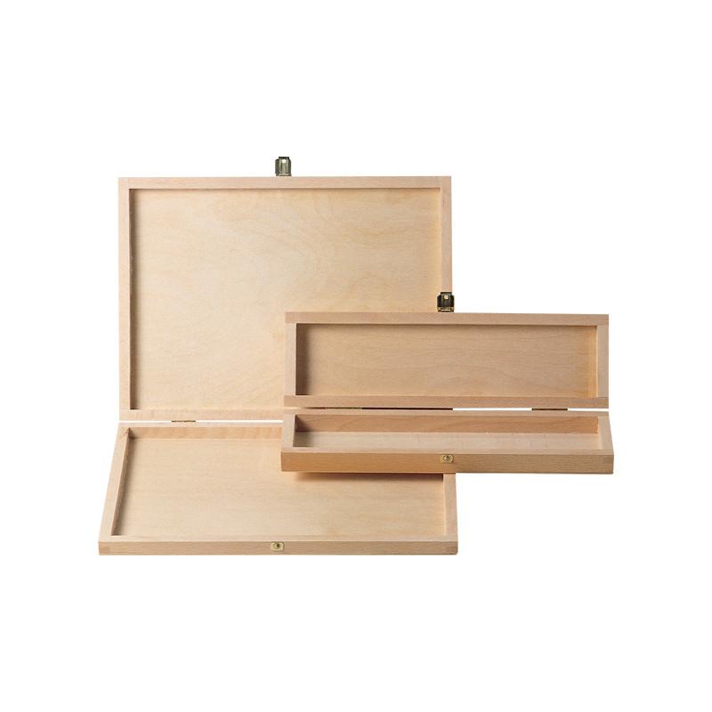 Boîte en bois pour crayons