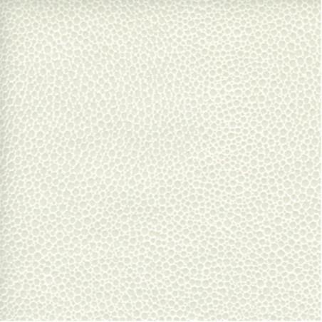 PAPIER CUIR MALLORY 50X68.5CM BLANC