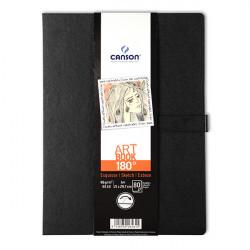 CANSON LIVRE ART BOOK INSPIRATION 180° 96G 21X29.7CM 80F