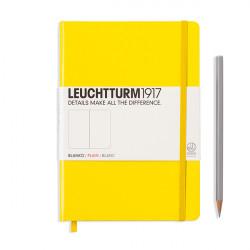 LEUCHTTURM 1917 CARNET MEDIUM 180G A5 CITRON 96P DOUBLON LT344801