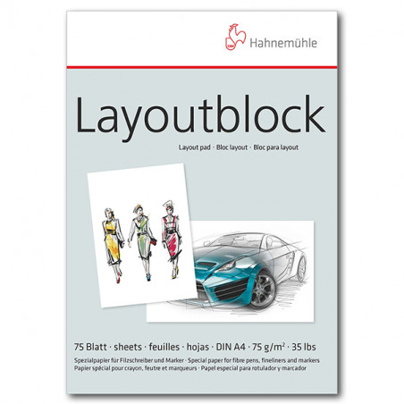Bloc layout 75 g/m²
