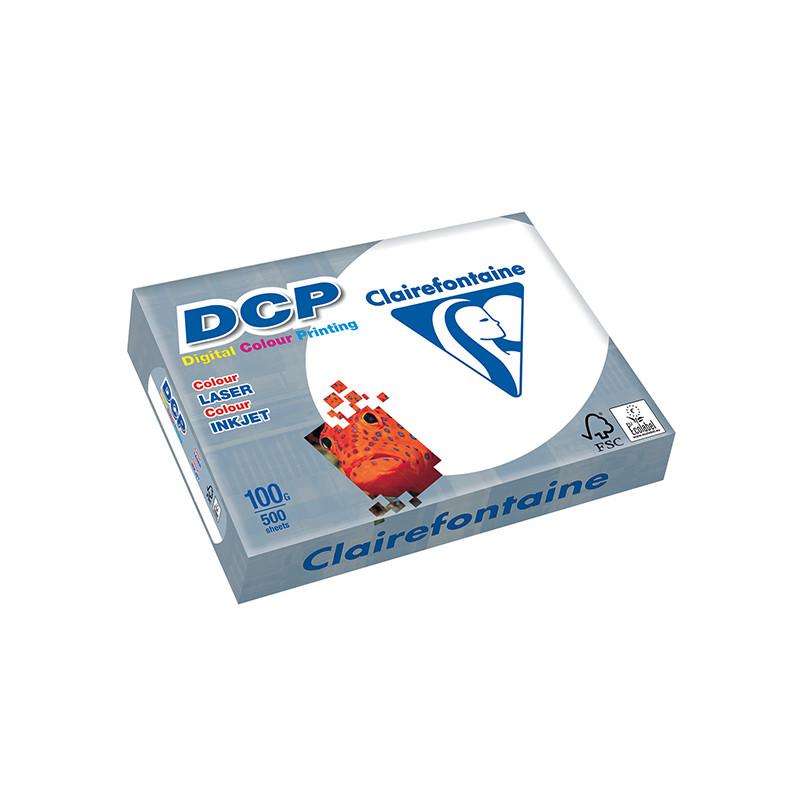 PAPIER PREMIUM DCP POUR IMPRESSION COUL 100G/M² A4 RAMETTE 500F 1821C