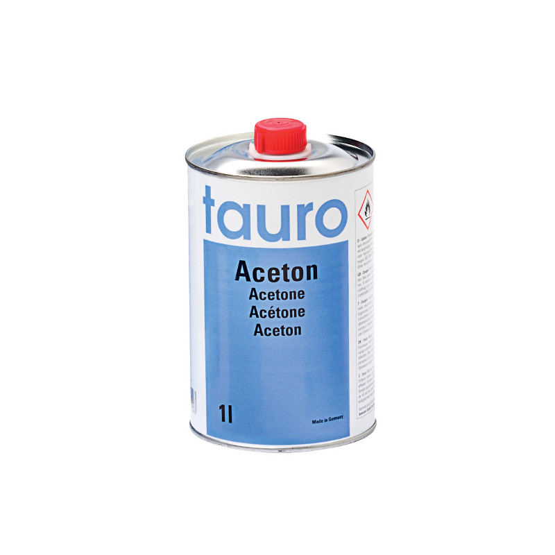 Acétone 1L pour peinture à l'huile Boesner