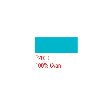 MONTANA RECHARGE 25ML P2000 PURE CYAN
