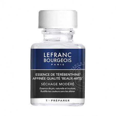 LEFRANC&BOURGEOIS ESSENCE TEREBENTHINE  RECTIFIEE 75ML