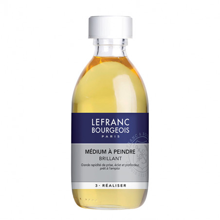 LEFRANC&BOURGEOIS MEDIUM A PEINDRE INCOLORE 250ML