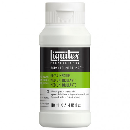 LIQUITEX 5004 MEDIUM VERNIS BRILLANT 118ML