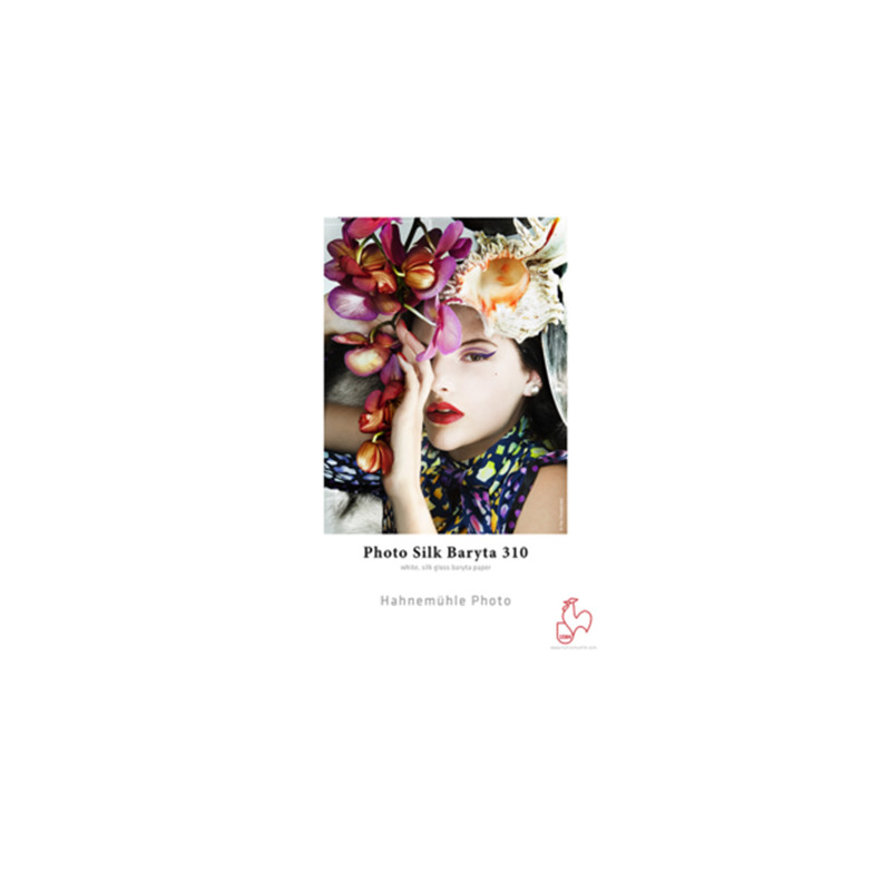Papier d'art pour impression Photo Silk Baryta 310 Hahnemühle