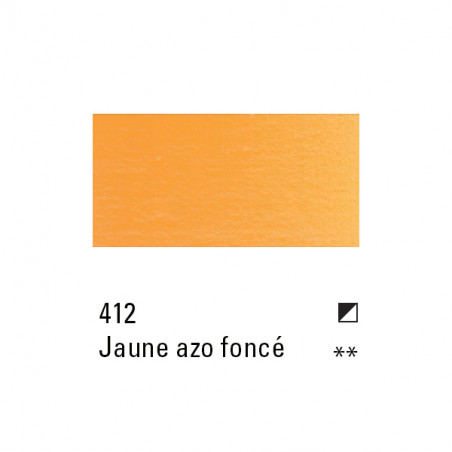 BOESNER HUILE 200 ML 412 JAUNE AZO FONCE