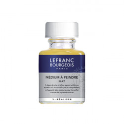 LEFRANC&BOURGEOIS MEDIUM A PEINDRE MAT 75ML