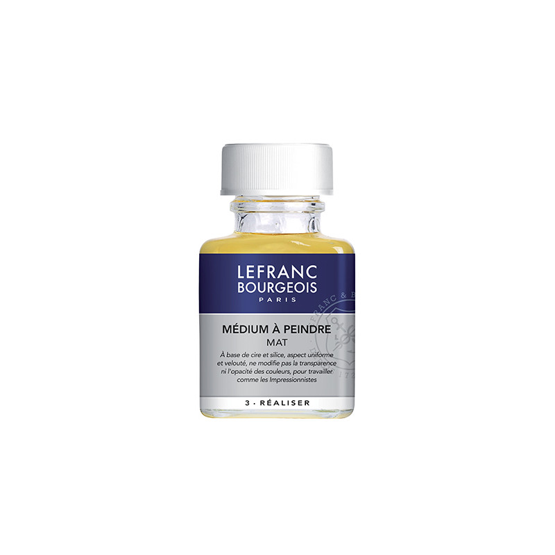 LEFRANC&BOURGEOIS MEDIUM A PEINDRE MAT 75ML