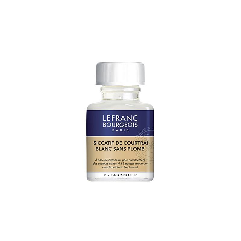 Siccatif de coutrai blanc pour peinture à l'huile Lefranc & Bourgeois