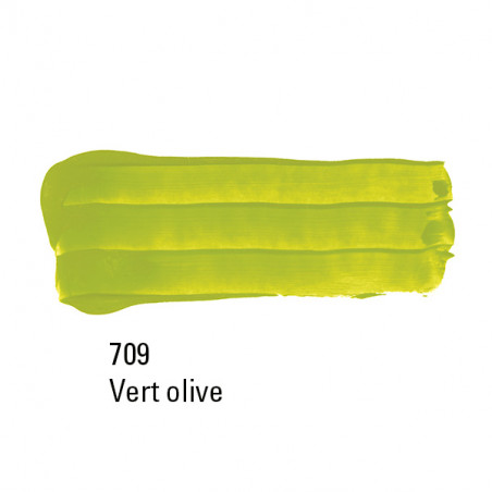 BOESNER SCENE ACRYL 750ML 709 VERT OLIVE CLAIR