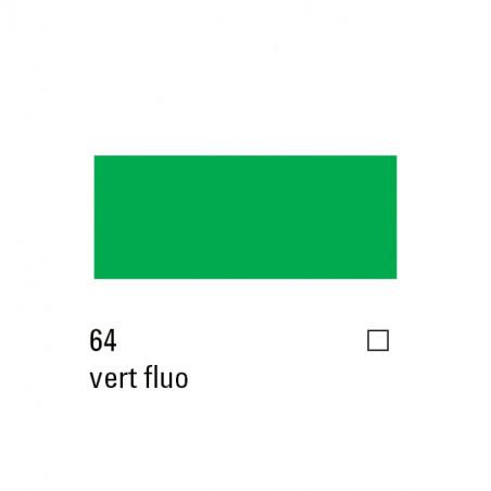 TRITON ACRYLIQUE 750ML 17064 VERT FLUO