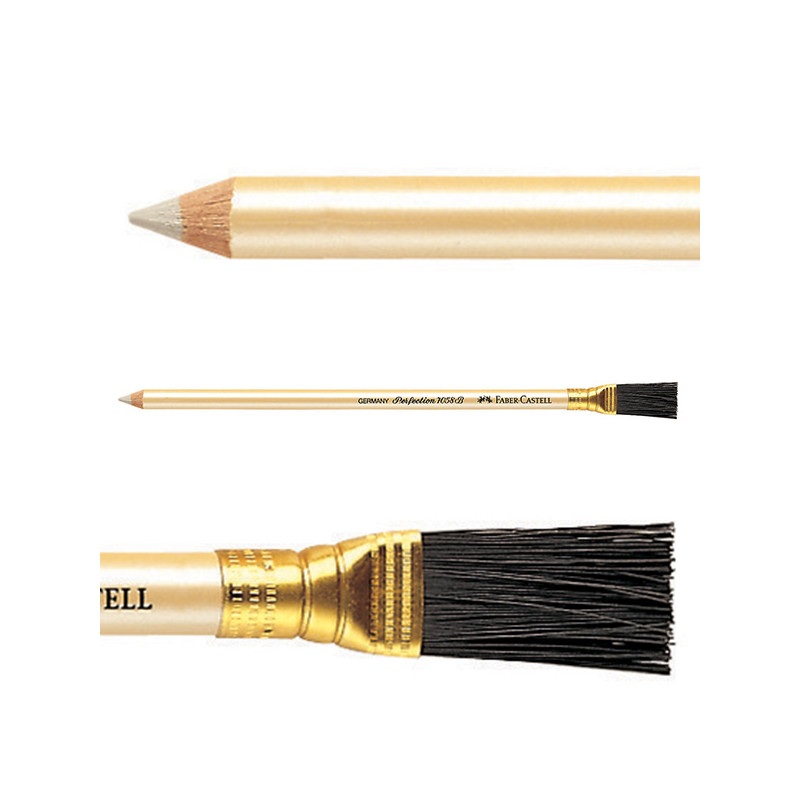 Crayon gomme perfection Faber-Castell