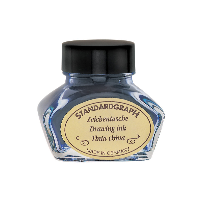 STANDARDGRAPH ENCRE DE CHINE 09 BLANC 30ML