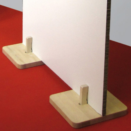 Pied socle d'exposition Zack Boesner