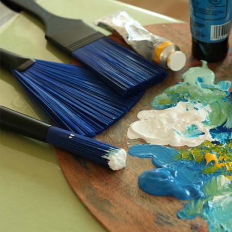 Blue Wonder brosse plate