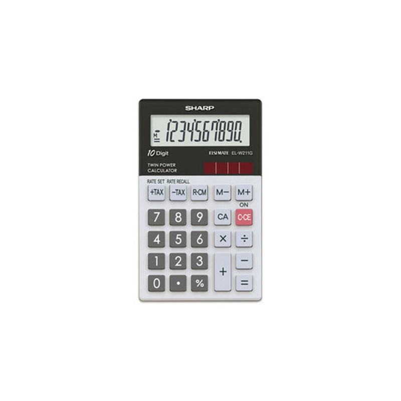 Calculatrice Top Glass SHARP