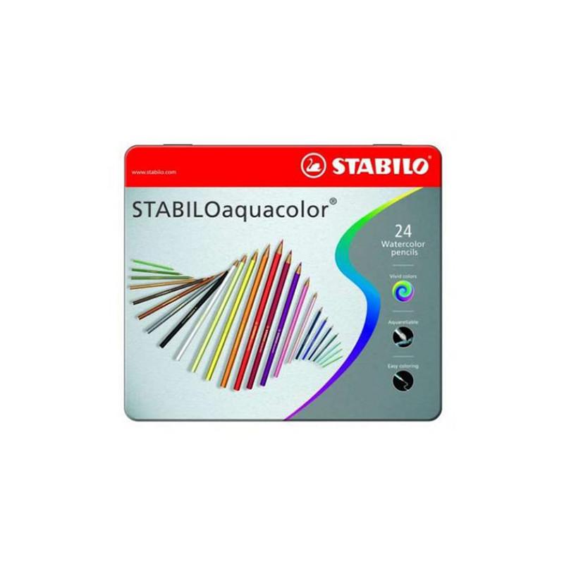 Boîte de 24 Aquacolor Stabilo