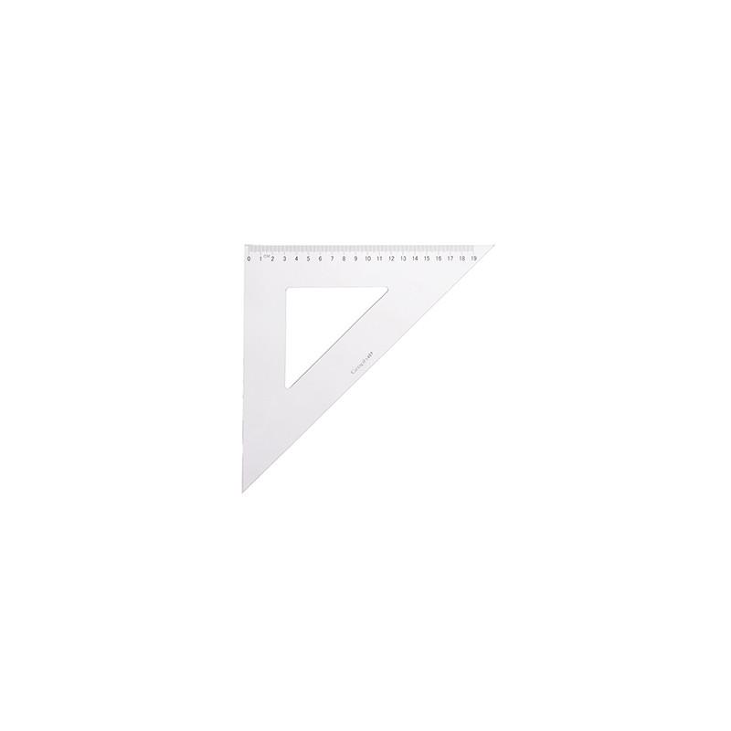 GRAPH'IT EQUERRE GRADUEE 45›-45› 30CM ANTI TACHE/ECOLE