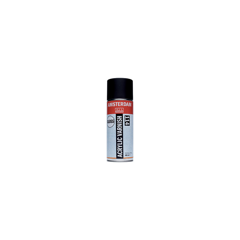 AMSTERDAM VERNIS ACRYLIQUE BRILLANT EN SPRAY 400ML