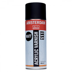 AMSTERDAM VERNIS ACRYLIQUE MAT EN SPRAY 400ML