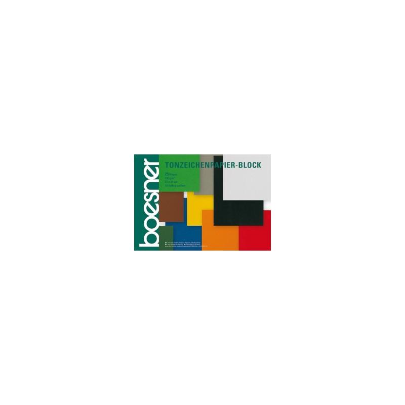 Bloc de papier couleur 130 g/m²
