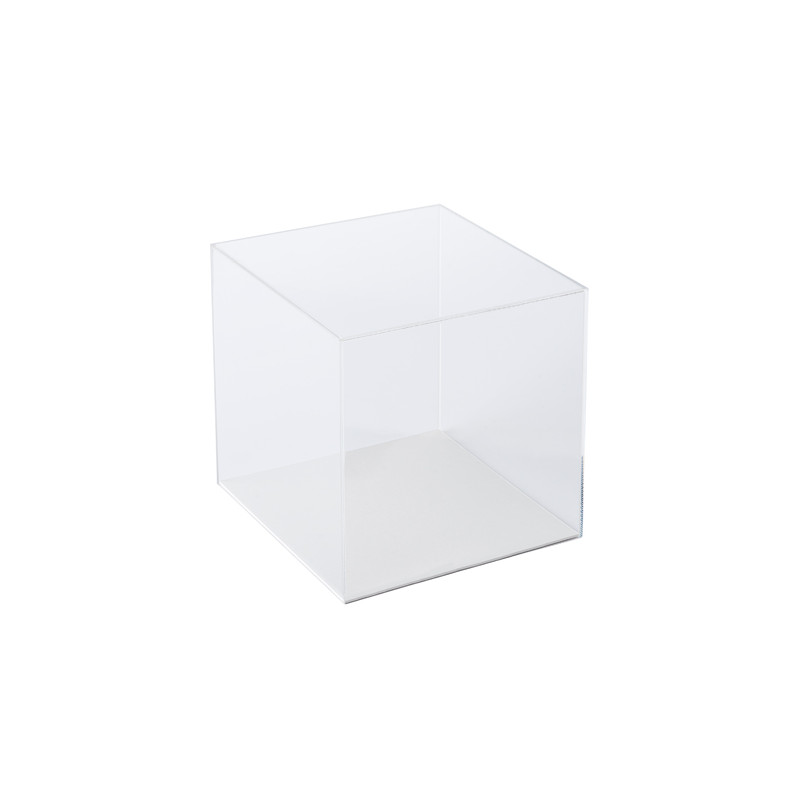 Cube acrylique transparent Briolet