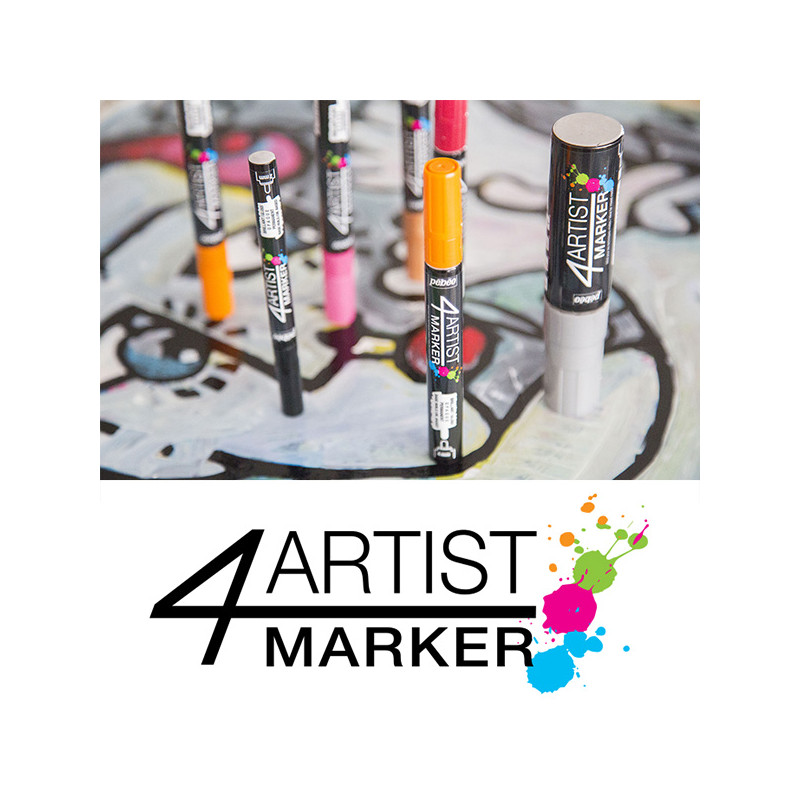 Feutre à l'huile 4Artist Marker de Pebeo