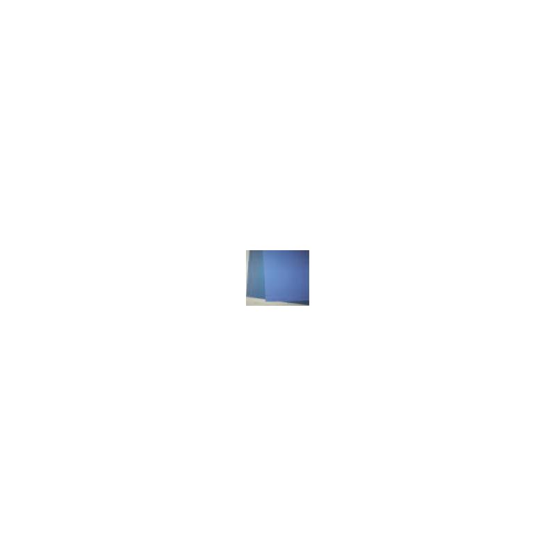 Carton celloderme bleu