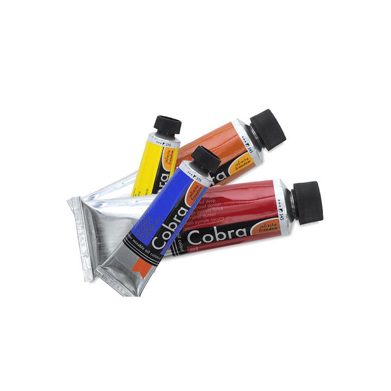 Peinture à l'huile diluable à l'eau Cobra