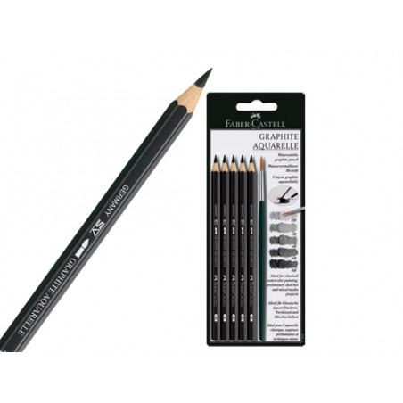 Crayon graphite 9000 aquarellable