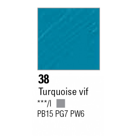 PEBEO HUILE F XL 200ML TURQUOISE VIF