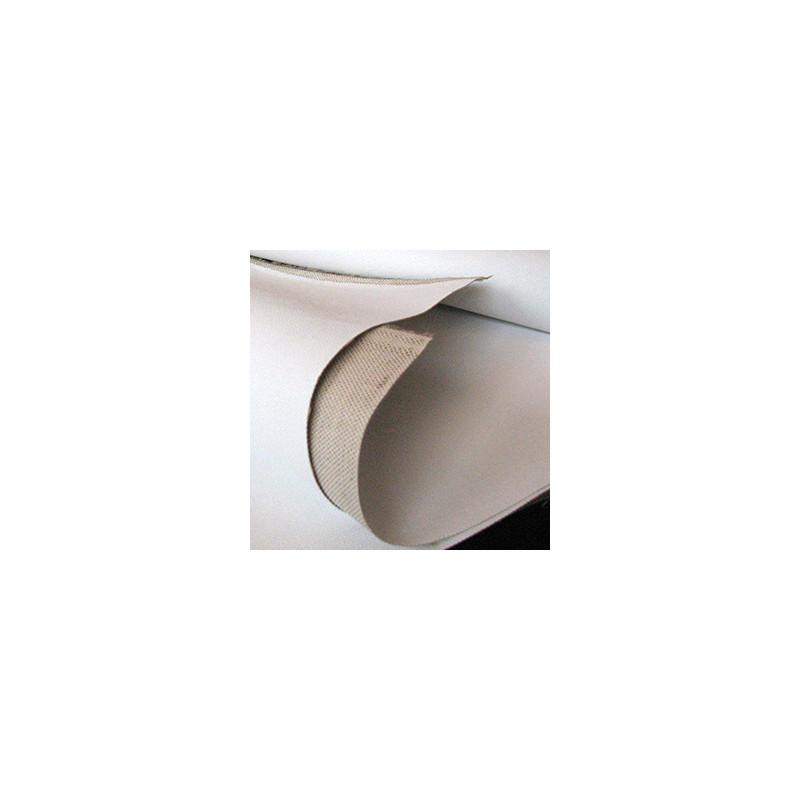 Rouleau de toile mixte lin coton aprrêtée Aix