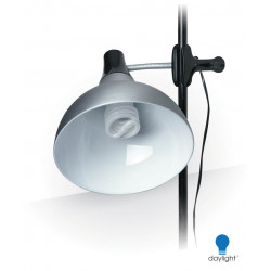 DAYLIGHT LAMPE CLIP ON STUDIO LAMP & STAND FLEXIBLE 32 WATTS